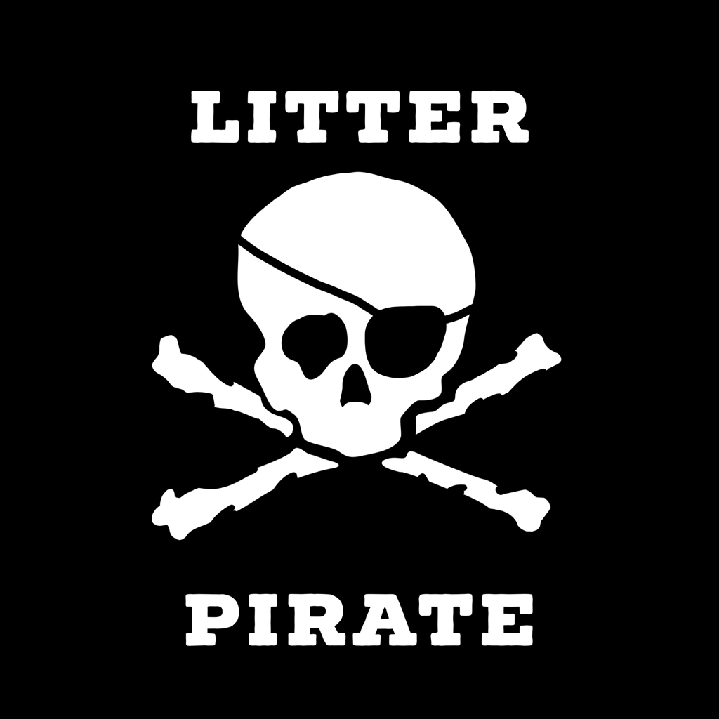 An anti-litter campaign in Eastern North Carolina starring the Litter Pirate!